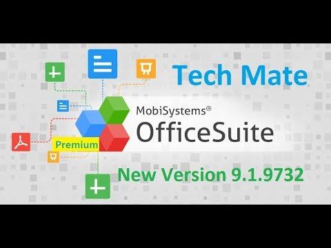 OfficeSuite 9 Pro + PDF Premium 9.1.9732 Fully Activated 100% Free