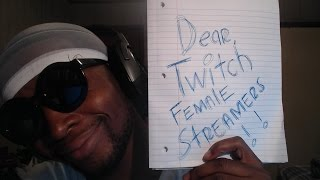 Letter To The Female Twitch Streamers From Abdou!Become A Legend: http://goo.gl/FumyHxMy Stream: https://Twitch.tv/abdoutoobeastyDizzyKitten's Channel: Twitch.tv/DizzykittenSocial Media:Twitter: https://twitter.com/AbdoutoobeastyMy facebook: https://www.facebook.com/abdoutoobeastyInstagram: http://instagram.com/smooveboyabMy Snapchat: Smooveboyab