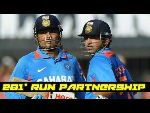 Download Virender Sehwag and Gautam Gambhir 201 Runs Partnership in ODI || India vs New Zealand HD Mp4 3GP Video and MP3