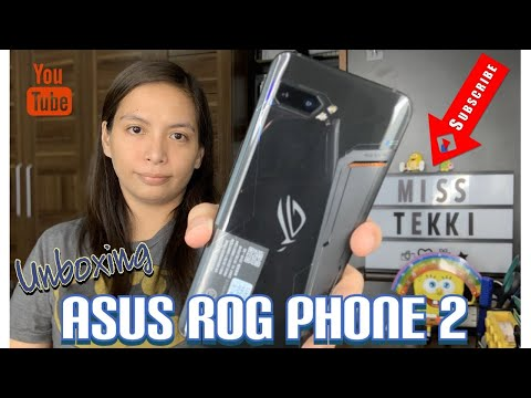 Unboxing Asus ROG Phone 2 from AJT Gadget World