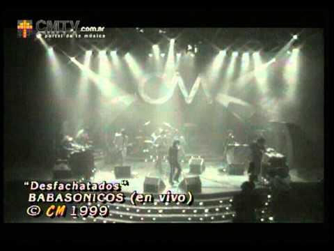 Babasónicos video Desfachatados - CM Vivo 1999