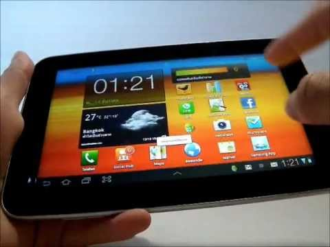 [ Review ] : Samsung P6200 Galaxy Tab 7.0 Plus (TH)