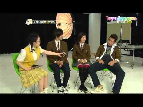 [Vietsub]Playful Kiss Postershoot MBC Section TV(edit).avi