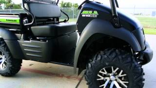 7. 2014 Kawasaki Mule 610 XC Special Edition with Alloy Wheels and Top    For Sale $8,599