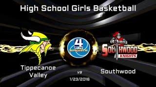 TVHS Girls Basketball vs Southwood