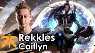 FNC Rekkles - Caitlyn vs AsheEU Challenger - Patch 7.14If you enjoyed the video subscribe for more!Follow LoL Pro Plays on Facebookhttps://www.facebook.com/pages/Lol-Pro-Plays/1411003125778173Outro Music: Shurk - The Wandererhttps://soundcloud.com/shirkofficial/the-wanderer