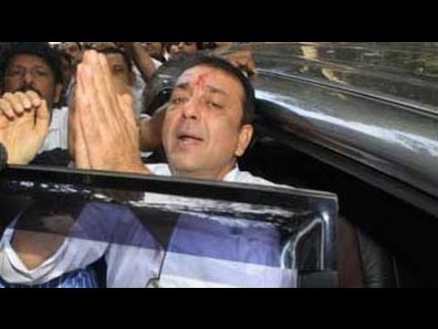 sanjay - Sanjay Dutt has been taken back to jail, hours after surrendering at a Mumbai court on Thursday afternoon. He will spend the night at Arthur Road Jail in Mum...
