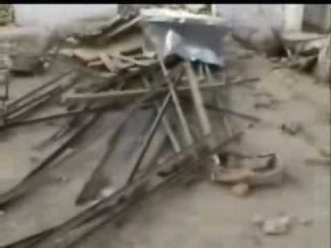 Mosque and Madrasa destroyed by Braelvi extremists in Dhakki D I Khan tragedy