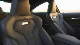 Yeni BMW M4 Coupe'nin iç mekan videosu // ototest.tv