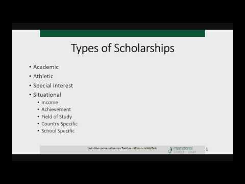 How To Get An International Scholarship - Hangout