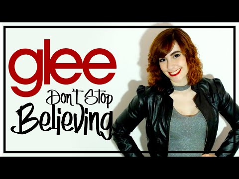 "Glee Cast  ""Don't Stop Believing"" Cover by Cat Rox"