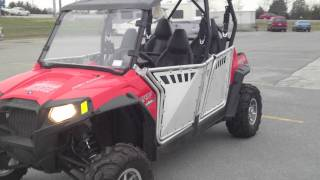 4. 2012 Polaris Ranger RZR 4 800 Robby Gordon Edition with Pro Armor Doors at Tommy's Motorsports