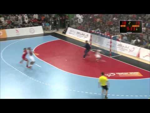 Qatar 27-26 Bahrain   Asian Handball Championship 2014