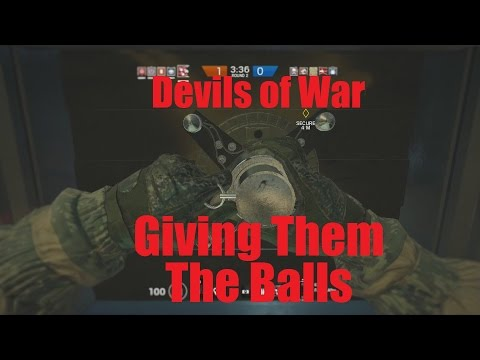 Giving Them The Balls - Devils of War