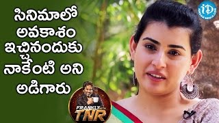 Video They Directly Asked Me To Do Some Favour - Archana || Frankly With TNR || Talking Movies With iDream MP3, 3GP, MP4, WEBM, AVI, FLV Juli 2018