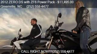 8. 2012 ZERO DS with ZF6 Power Pack  for sale in Greenville, NC