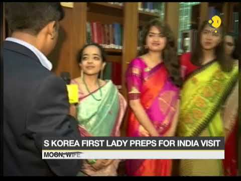 """South Korean first lady watches bollywood movie """"Dangal"""" in Seoul"""