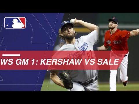 Video: WS2018 Gm1: Kershaw, Sale set to duel in World Series