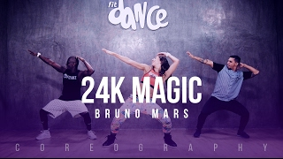Video 24K Magic - Bruno Mars - Choreography - FitDance Life MP3, 3GP, MP4, WEBM, AVI, FLV Januari 2018
