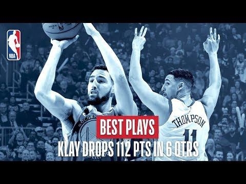 Video: Best Plays of Klay Thompson's Impressive 112 Points in 56 Minutes!