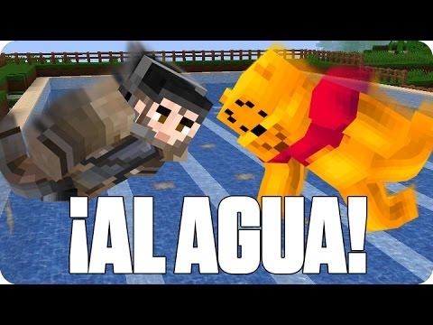¡AL AGUA PATOS! DEATHDROP | Minecraft Con Luh