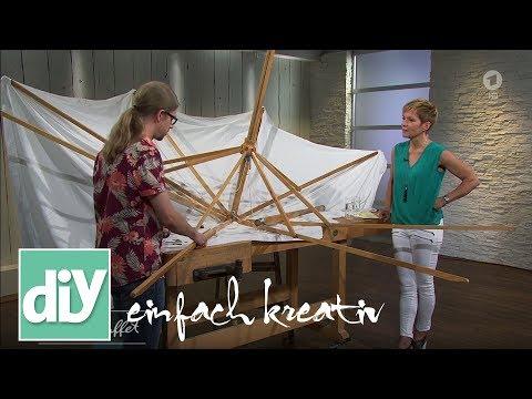 Holz-Sonnenschirm reparieren   DIY einfach kreativ
