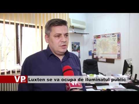 Luxten se va ocupa de iluminatul public