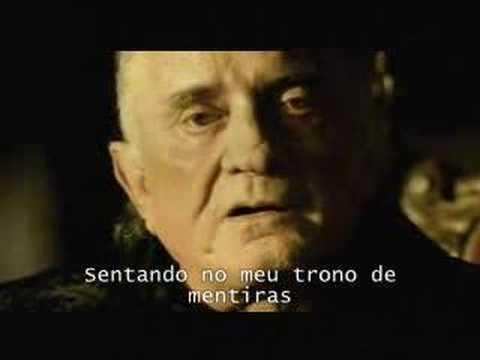 Hurt - Johnny Cash (Legendado) (видео)