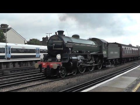 Class 4-6-0 B1 No 61306 'Mayflower' On 1Z63 Faversham to ...