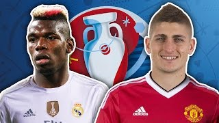 EURO 2016 Stars In €200m Raid By Superclubs!   Transfer Talk by Football Daily