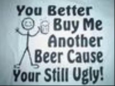 funny stuff and beer