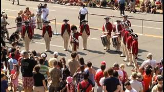 July 4th, 2012 At The National Archives: Fife&Drum Corps And Address By David. S. Ferriero