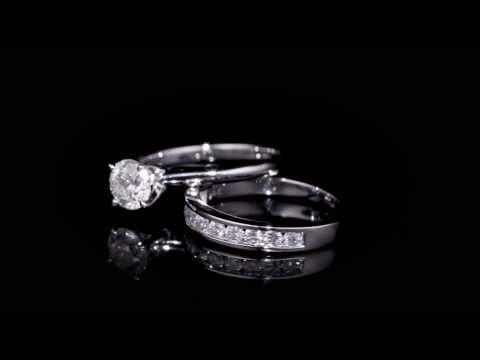 MELODY 1.50CTW DIAMOND BRIDAL SET