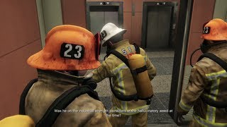 Grand Theft Auto V - The Bureau Raid - Fire Crew