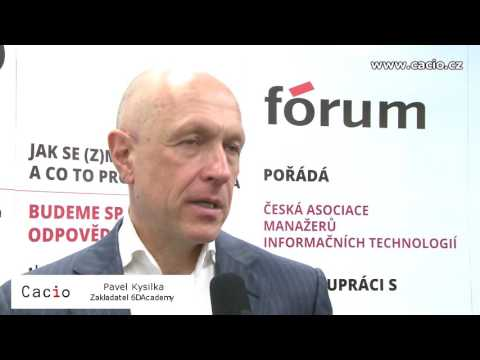 CACIO fórum – Jak se (z)mění řízení IT a co to pro nás znamená