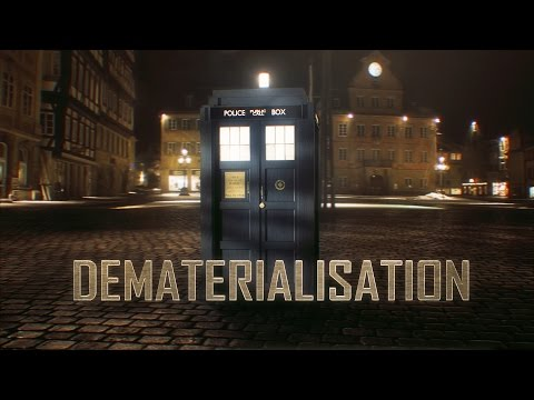 A Stunning New Perspective On TARDIS Dematerialisation
