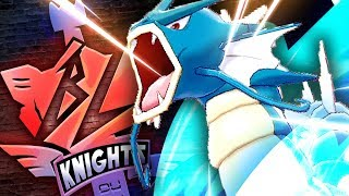 TOP AGENT GYARADOS! BL KNIGHTS #8 POKEMON SWORD AND SHIELD by Thunder Blunder 777