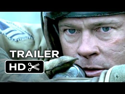 Fury Official Trailer (2014) - Brad Pitt, Shia LaBeouf War Movie HD