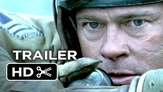 Nonton Fury Official Trailer  2014    Brad Pitt  Shia Labeouf War Movie Hd Film Subtitle Indonesia Streaming Movie Download