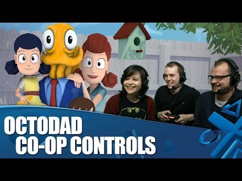 kim - Kim from Yogscast joins us to play Octodad: Dadliest Catch on PlayStation 4 in thumb-twisting co-op mode. Octodad is out for PlayStation 4 from April 23. PlayStation Access TV brings you...