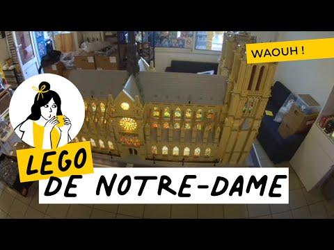 Notre Dame en briques LEGO©