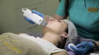Чистка лица в клинике Gold laser