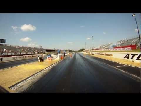 2012 Nopi Nationals drag racing, Buell 1125R and Suzuki GSX-R at Atlanta Dragway on GoPro