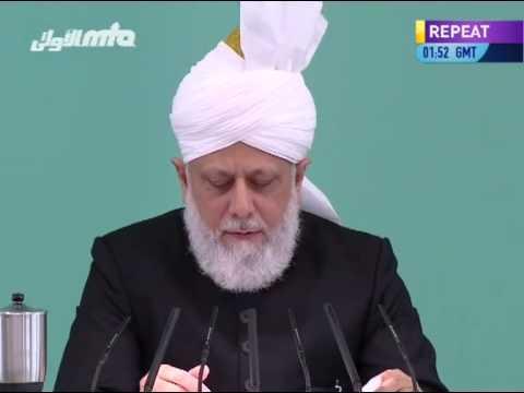 Ansprache des Kalifen (aba) zum Id-ul-Fitr Fest 2013