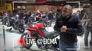Ducati Multistrada 950 a EICMA 2016  - Video Novità