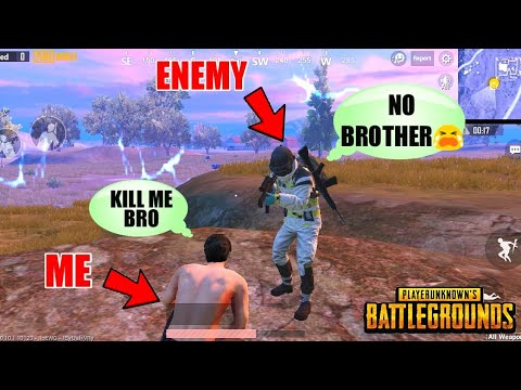 Team Up With Enemy -Emotional Ending❤️ PUBG Mobile || This Will Make You Cry