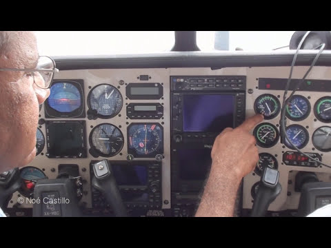 Cessna 210 Centurion Rolls Royce Turbo – In Flight