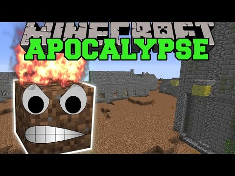 Minecraft: POST APOCALYPSE MOD (CAN YOU SURVIVE THE RUINS?) Mod Showcase
