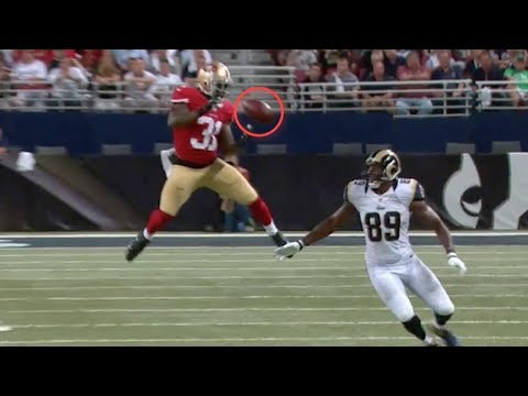 NFL Worst Dropped Interceptions (видео)