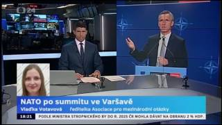 Varšava hostila summit NATO